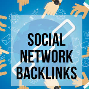 1,000 Social Networks Backlinks. Most powerful backlinks! Limited Time Offer!