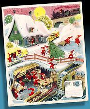 Bel Vecchio Calendario Avvento 50er Wichteldorf Himmelsberga in Weihnachtsfieber