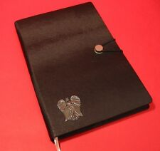 Guardian Angel A5 Black Note Book Journal Angel themed Mother Christmas Gift