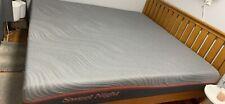 Sweetnight king 10 gelmemory foam mattress , double sided in grey n white