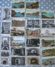 Collection of 24 Vintage JERSEY Postcards German Hospital, Church, Colour Views