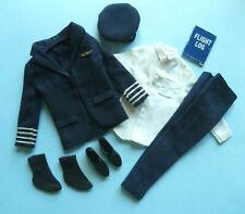 "Vintage Barbie: Ken 1964 ""American Airlines Pilot"" Outfit #0779 • Vhtf"