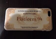 HARRY POTTER PLATFORM 9 3/4 TRAIN TICKET  CASE FOR IPHONE 5 5s