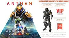 NEW Anthem PLAYSTATION 4 PS4 BONUS PRE ORDER DLC  & VIP DEMO ACCESS EA BioWare