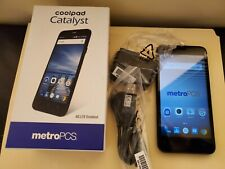Black Coolpad Catalyst 3622a Metro Pcs 8gb Smart Phone