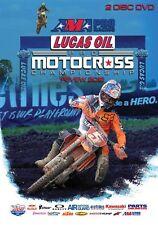 AMA PRO MOTOCROSS CHAMPIONSHIP 2012 DVD (2 Discs) Lucas Oil. 470 min. DUKE 2402N