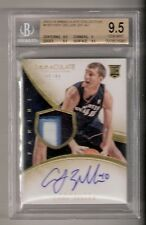 Cody Zeller 13/14 Immaculate Patch Auto RC #139 SN#45/99 BGS 9.5/10