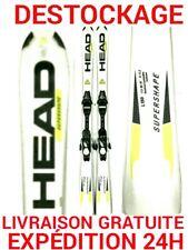 """ski occasion enfant HEAD """"SUPER SHAPE"""" tailles:140cm et 150cm+fixations"""