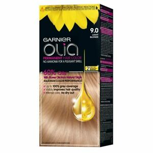 GARNIER OLIA  9.0 Light Blonde Permanent Hair Dye Colour AMMONIA FREE