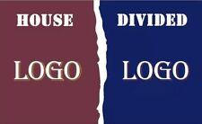 Custom House Divided Flag 3x5 Football Baseball Hockey Basketball Soccer College