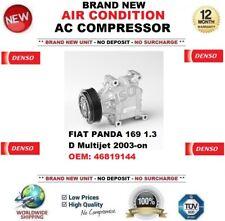 DENSO ARIA CONDIZIONATA COMPRESSORE AC FIAT PANDA 169 1.3 D Multijet
