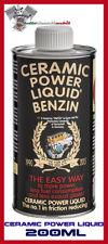 CERAMIC POWER LIQUID BENZIN 200 ML ADDITIVO MOTORE ANTI ATTRITO FINO A 1.000CC