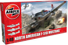 Airfix North American F-51D Mustang 1:48 Scale Plastic Model Airplane A05136