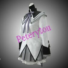 Puella Magi Madoka Magica Homura Akemi Cosplay Costume Custom-made