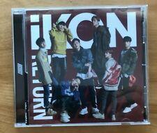 "IKON    ""Return""   CD                      K-Pop                  (100-3-19)"