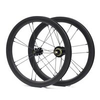 "Carbon 1~3 Speed Wheelset Front&Rear for Brompton 3sixty Foldingbike 349 16""900g"