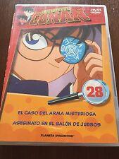 DETECTIVE CONAN DVD 28 - 1 DVD - 2 CAPS - 50 MIN - JONU MEDIA PLANETA DEAGOSTINI
