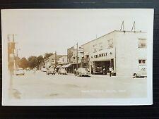 C 1950 Real Photo RPPC Postcard Chainway Store Main Street DELHI Ontario Canada