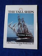 LAKE ONTARIO TALL SHIPS RENDEZVOUS 1984 PROGRAM BOOK BOATS SHOW SOUVENIR