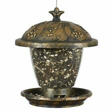 Perky-Pet 305 Holly Berry Gilded Chalet Wild Bird Feeder Cute New Free Shipping
