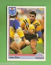 1992 RUGBY LEAGUE CARD #167 JOHN ELIAS, BALMAIN TIGERS