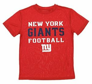 NFL Youth New York Giants Performance Dye T-Shirt, Red