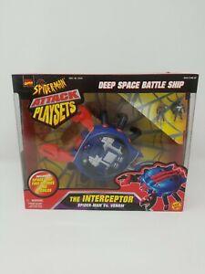 Marvel Spider-man vs Venom Attack Playsets Toy Biz The Interceptor 1997