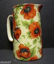 Heron Cross Pottery Poppy Chintz English 1 Pint Milk Jug