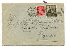 REGNO, BUSTA DA ROMA 1939, C.30 PROCLAMAZIONE IMPERO + C20     m
