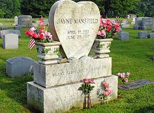 PHOTO LA TOMBE DE JAYNE MANSFIELD - 11X15 CM  # 16