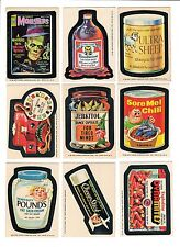 1975 Wacky Packages 15th Series 15 Complete Set with Bloodweiser Gums 30/30 NM-