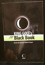 GOLF BOOK, KING GOLF'S LIL' BLACK BOOK, SECRETS ALL BEGINNERS NEED TO KNOW