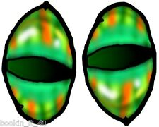 *Monster Evil Reptile Eyes #9 Vinyl Decal Stickers*