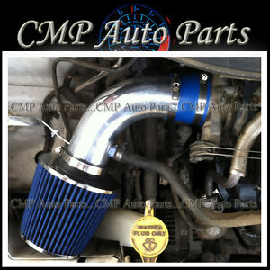 BLUE AIR INTAKE FIT 01-07 CHRYSLER Voyager DODGE Caravan SE SXT MINI 3.3L