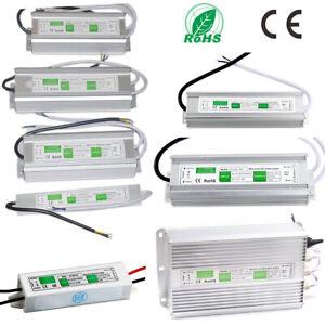 AC110-220V to DC 12V 24V Power Supply Adapter Driver Transformer IP67 Waterproof