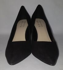 Joanna Hope Women Evening-Party Stiletto Black Faux Suede Court Shoes Size 7 E