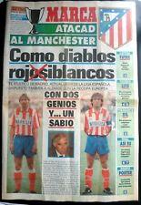 More details for marca newspaper extra  atlético madrid v manchester united  ecwc   23-10-1991
