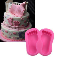 1pc Baby Foot Silicone Molds Fondant Cake Decorating Tools Silicone Soap TB