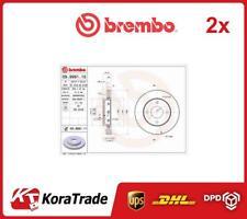 2x 09999111 BREMBO OE QUALITY BRAKE DISC SET
