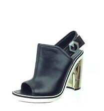 Women's Shoes Nicholas Kirkwood Sling Back Sandals Heels Sz 37.5 M NEW $990