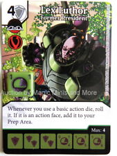 DC Comics LEX LUTHOR Former President #95 Justice League Dice Masters card