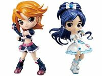 Q posket Precure Cure Black & Cure White Set Pearl color ver. from Japan*