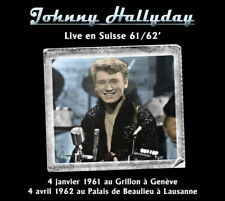 Johnny Hallyday Live en Suisse 61/62' par Johnny Hallyday (CD Album, Édition Limitée, 2020)