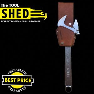 """Hammerex Adjustable Spanner ratchet leather belt holder fits Wrench size10"""" 12"""""""