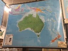 Hema/Maps Intl' *Australasia* Laminated Wall Map 47x39 full color 2006