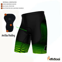 Mens Cycling Shorts Cycle Underwear Coolmax® Padding Skin Fit Trousers Baselayer