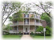 Authentic Victorian Octagon House Plans blueprints, wraparound porches