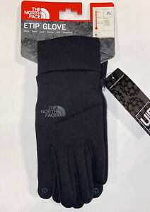 NWT THE NORTH FACE ETIP GLOVE TNF BLACK UNISEX  $45  NF0A3PNJK3  SIZE XL