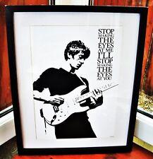 Arctic Monkeys/I Bet You Look Good on the Dancefloor A3 size art print/poster