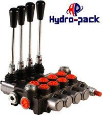 Hydraulikventil Handsteuerventil 40L Handhebelventil Monoblock 4xDW inkl.Hebel